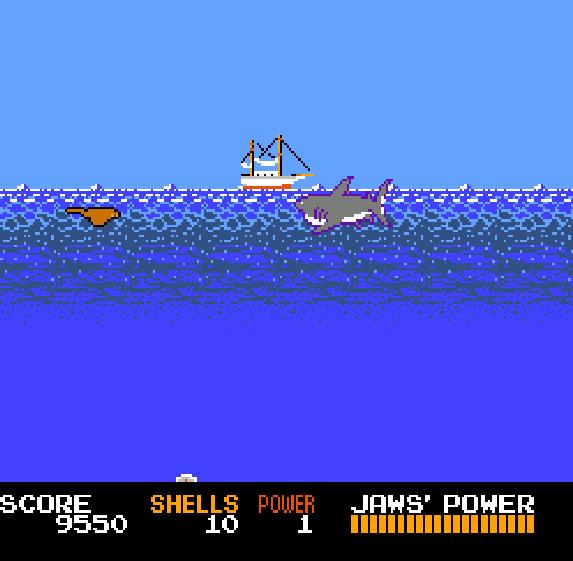 Jaws NES Xtreme Retro 1