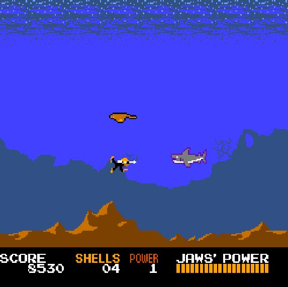 Jaws NES Xtreme Retro 3