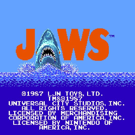 Jaws NES Xtreme Retro 4