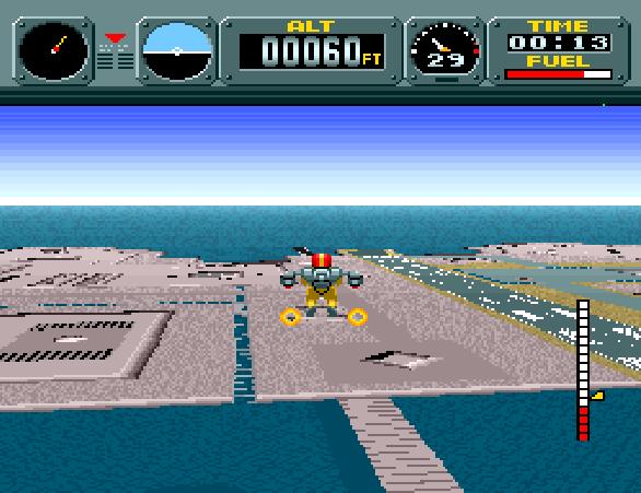 Pilotwings SNES Pixel Art Xtreme Retro Modo 7 2