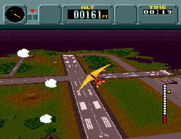 Pilotwings SNES Pixel Art Xtreme Retro Modo 7 4