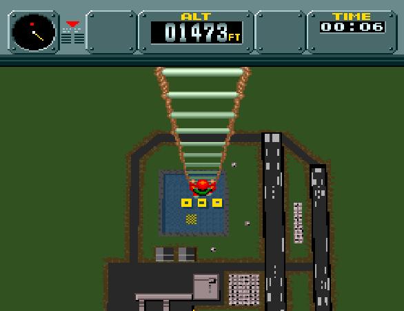 Pilotwings SNES Pixel Art Xtreme Retro Modo 7 6