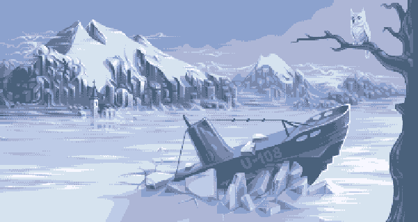 Submarine Attack Master System Pixel Art Xtreme Retro Sega