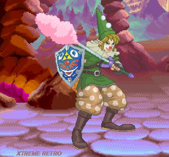 Zelda Rap Nintendo Xtreme Retro