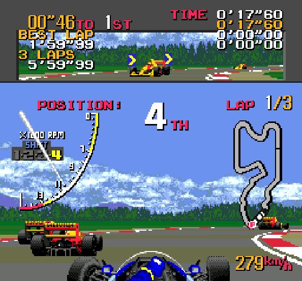 Ayrton Sennas Super Monaco GP II Sega Genesis Mega Drive Xtreme Retro 1