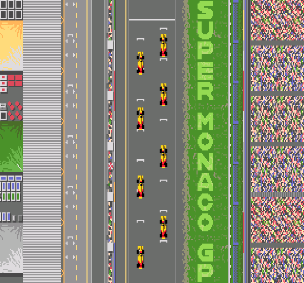 Ayrton Sennas Super Monaco GP II Sega Genesis Mega Drive Xtreme Retro 10