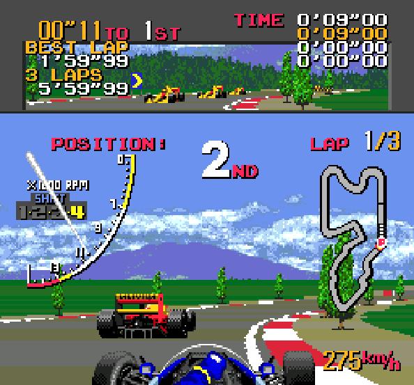 Ayrton Sennas Super Monaco GP II Sega Genesis Mega Drive Xtreme Retro 3