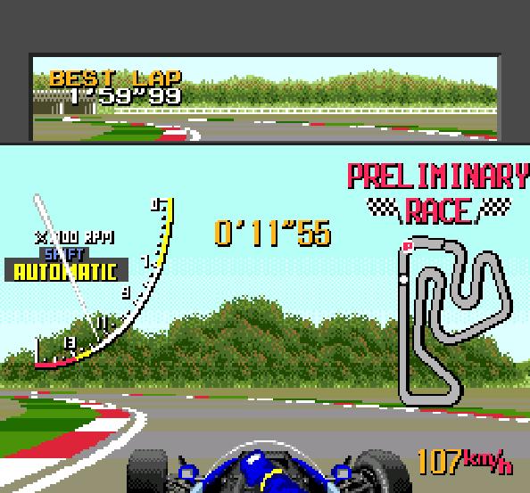 Ayrton Sennas Super Monaco GP II Sega Genesis Mega Drive Xtreme Retro