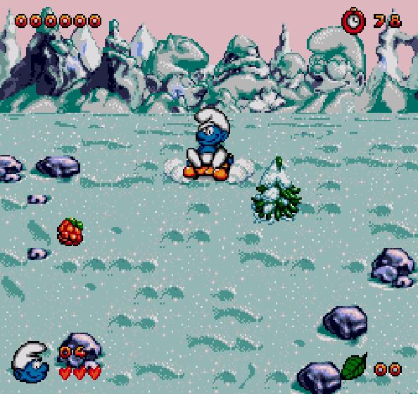 Los Pitufos The Smurfs Sega Genesis Xtreme Retro