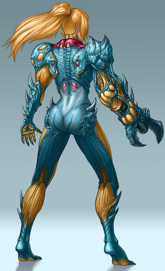 Metroid Fusion Suit Artwork Xtreme Retro Samus 1
