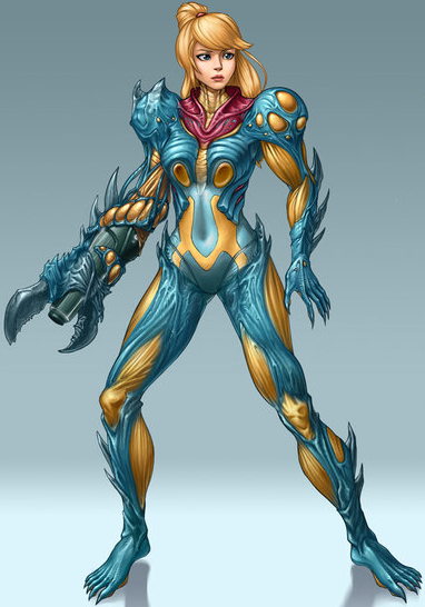 Metroid Fusion Suit Artwork Xtreme Retro Samus 2