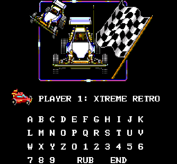 RC Grand Prix Master System Xtreme Retro 2