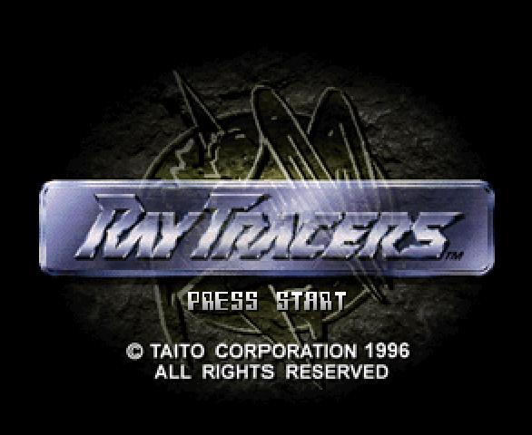 Ray Tracers Taito PSOne Xtreme Retro 2