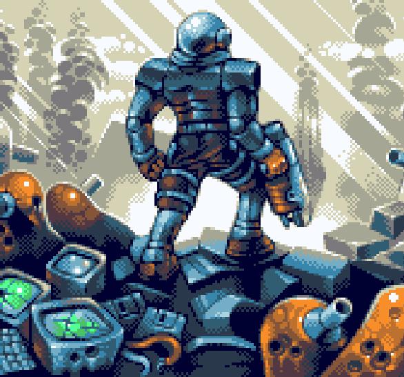 Rendering Ranger R2 SNES Pixel Art Xtreme Retro