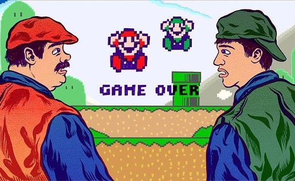 Super Mario Bros Movie Artwork Nintendo Xtreme Retro Bob Hopkins Luigi Videogame