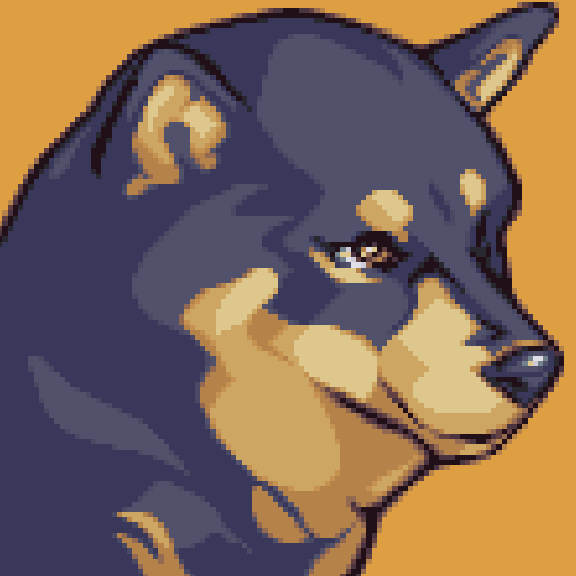 Sweet Dog Pixel Art Xtreme Retro