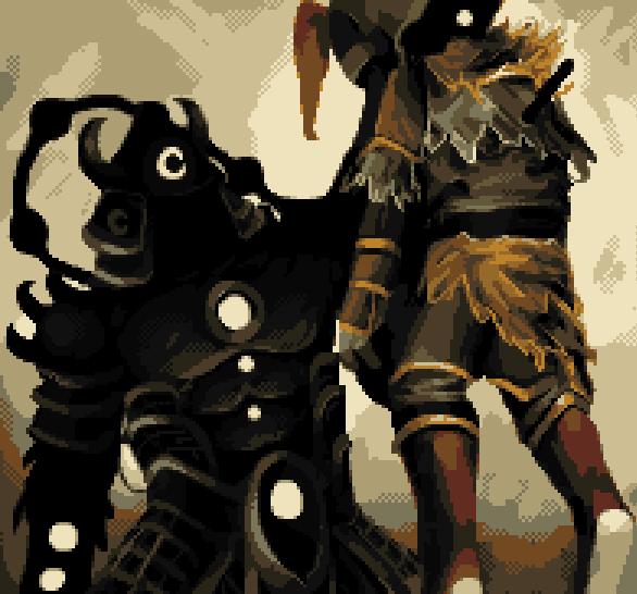 Bushido Blade 2 PSOne Square Pixel Art Xtreme Retro
