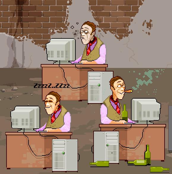 Computer Game Pixel Art Xtreme Retro
