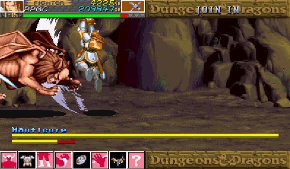 Dungeon & Dragons Capcom Arcade Xtreme Retro 1
