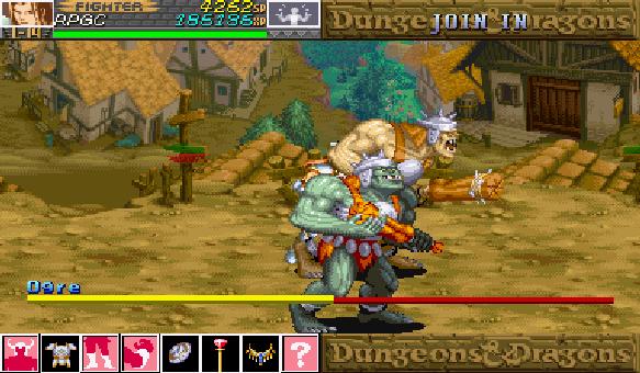 Dungeon & Dragons Capcom Arcade Xtreme Retro 2