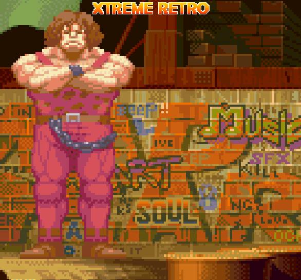 Final Fight Capcom Hugo Andore Pixel Art Xtreme Retro