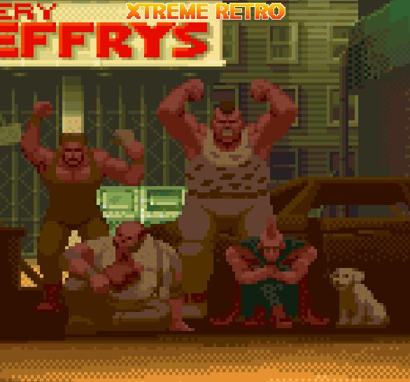 Final Fight Capcom Mad Gear Gang Pixel Art Xtreme Retro