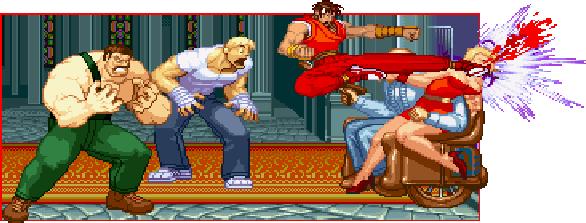 Final Fight Pixel Art Funny Xtreme Retro Capcom