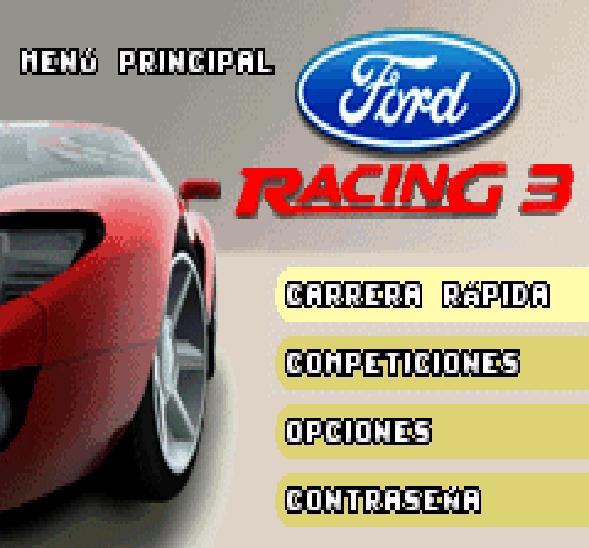 Ford Racing 3 GBA Xtreme Retro 2