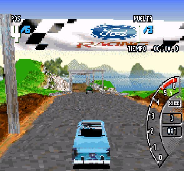 Ford Racing 3 GBA Xtreme Retro 3
