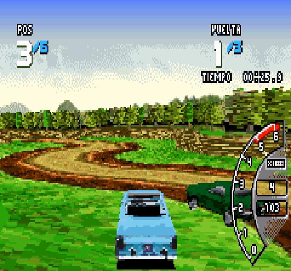 Ford Racing 3 GBA Xtreme Retro 4