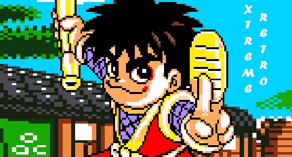 Konami Wai Wai World 2 SOS Famicom Goemon Pixel Art Xtreme Retro