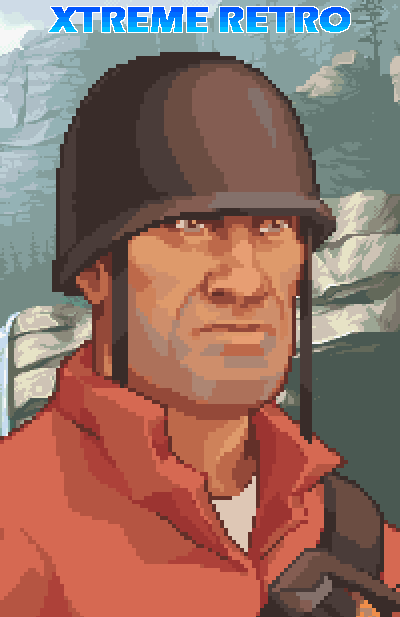 Medal of Honor Infiltrator EA GAMES GBA Pixel Art Xtreme Retro
