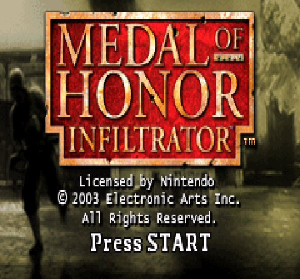 Medal of Honor Infiltrator EA Sports GBA Xtreme Retro 1