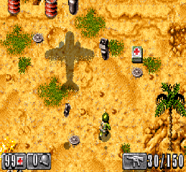 Medal of Honor Infiltrator EA Sports GBA Xtreme Retro 3