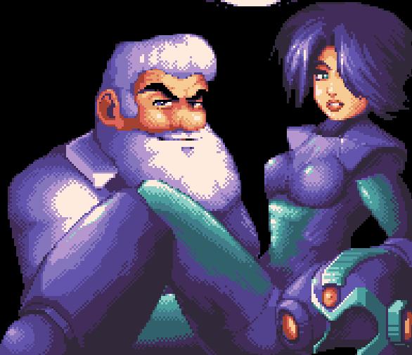 Megaman Sexy Dr Light Capcom Pixel Art Xtreme Retro