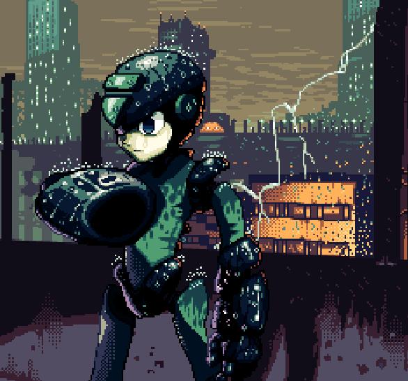 Megaman X Pixel Art Capcom Xtreme Retro Header