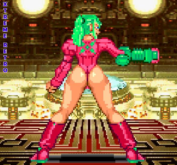 Samus Aran Metroid Pixel Art Xtreme Retro Justin Bailey Sexy Famicom