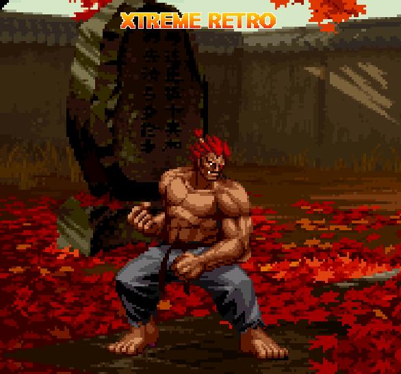 Street Fighter Akuma Pixel Art Xtreme Retro Capcom