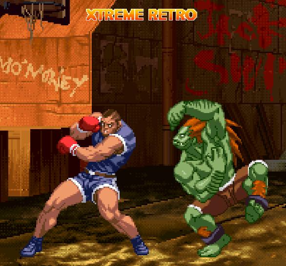 Street Fighter Balrog Pixel Art Xtreme Retro Blanka