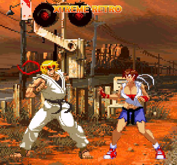 Street Fighter Ken Masters Pixel Art Xtreme Retro
