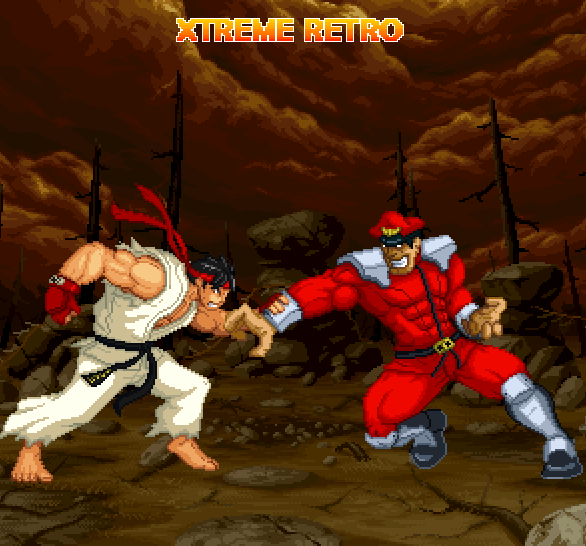 Street Fighter Ryu Pixel Art Xtreme Retro 32 bits