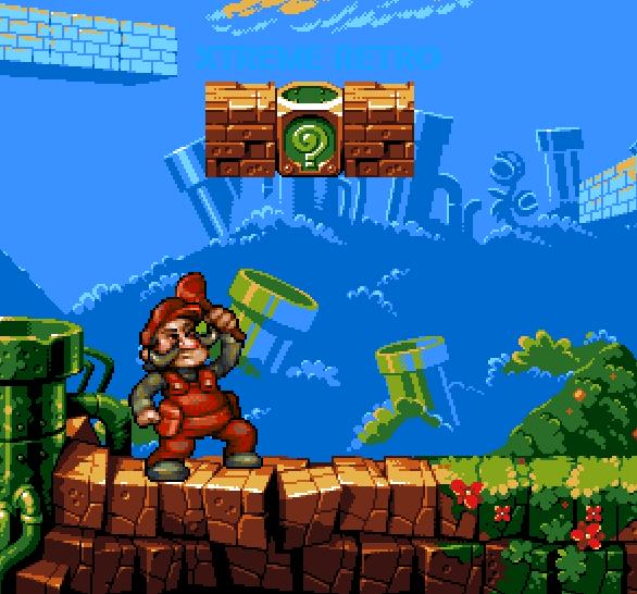 Super Mario Bros 8 bits Pixel Art Xtreme Retro Nintendo