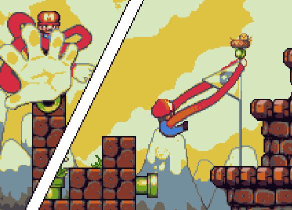 Super Mario Bros Deluxe Game Boy Color Nintendo Pixel Art Xtreme Retro 5C