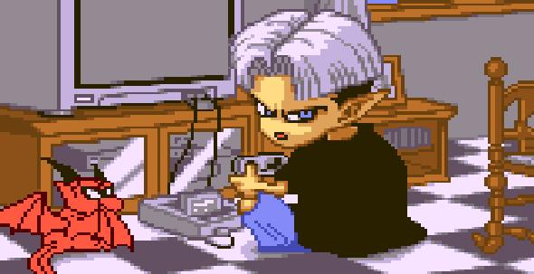 Akira Toriyama Go Go Ackman Pixel Art Super Famicom Xtreme Retro