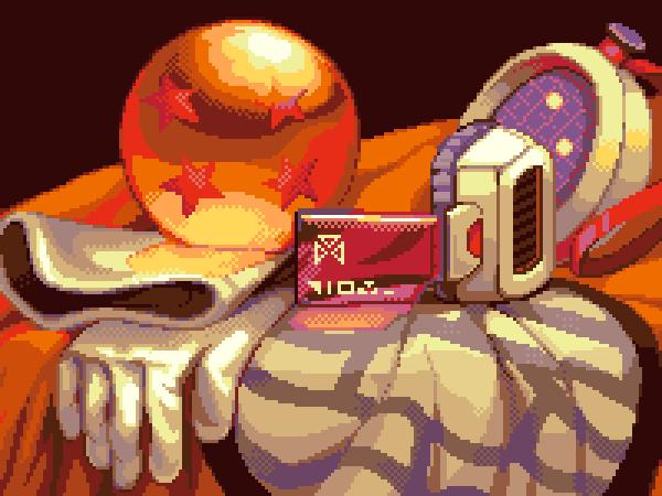 Dragon Ball Z Fighting 2005 Game Boy Color Pixel Art Xtreme Retro