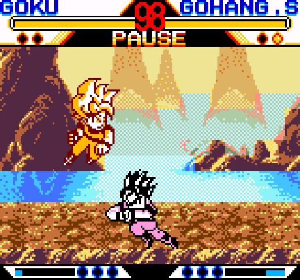 Dragon Ball Z Fighting 2005 Game Boy Color Xtreme Retro 10