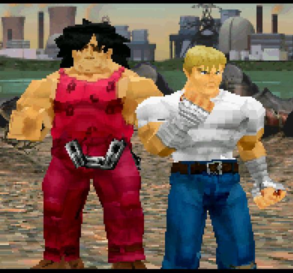 Final Fight Revenge Capcom Sega Saturn Cody VS Andore Xtreme Retro