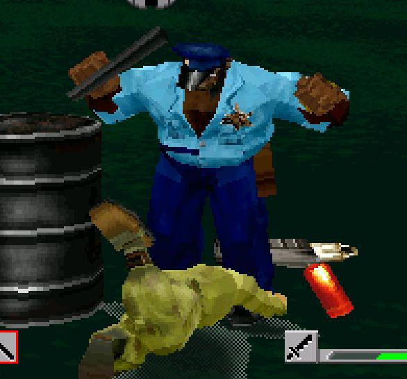 Final Fight Revenge Capcom Sega Saturn Edie VS El Gado Xtreme Retro