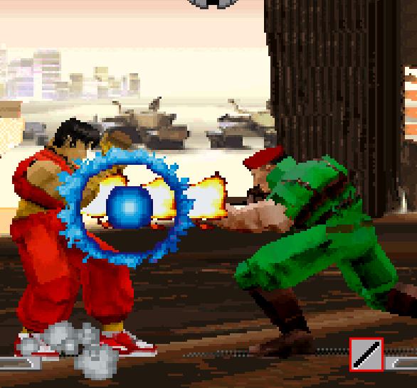 Final Fight Revenge Capcom Sega Saturn Guy VS Rolento Xtreme Retro