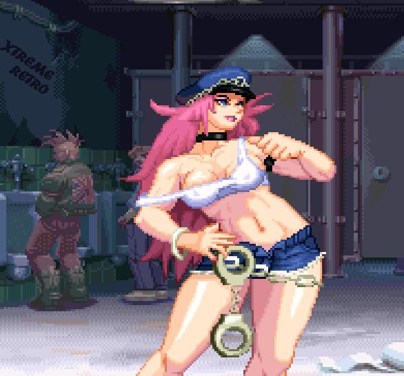 Final Fight Revenge Capcom Sega Saturn Pixel Art Xtreme Retro Poison